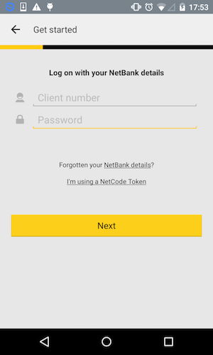 Commbank on Nexus 4